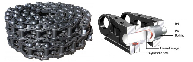 dozer sealed&lubricated track chain - STRENGTH PRODUCT